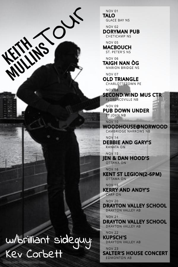 Keith Mullins – Singer/Songwriter